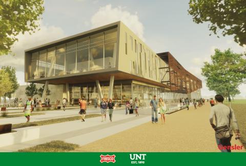 Rendering of Frisco campus